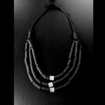 Load image into Gallery viewer, Samara necklace Black