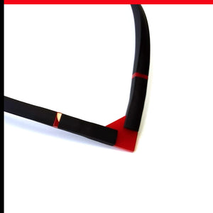 Max choker Red and Black