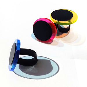 Maya ring in 3 Neon colors