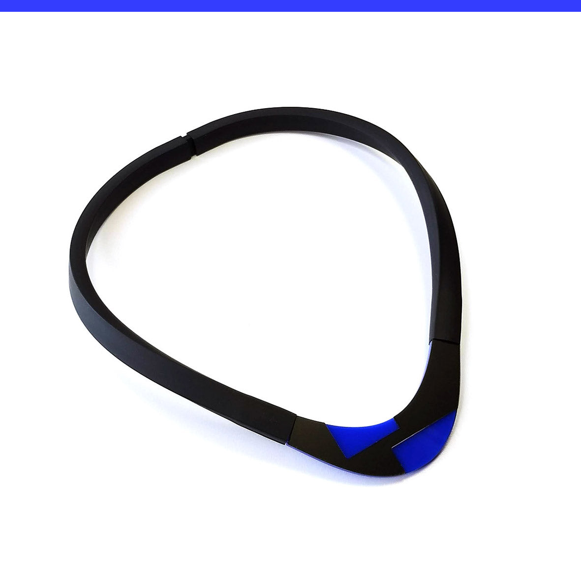 Solen choker Blue and Black