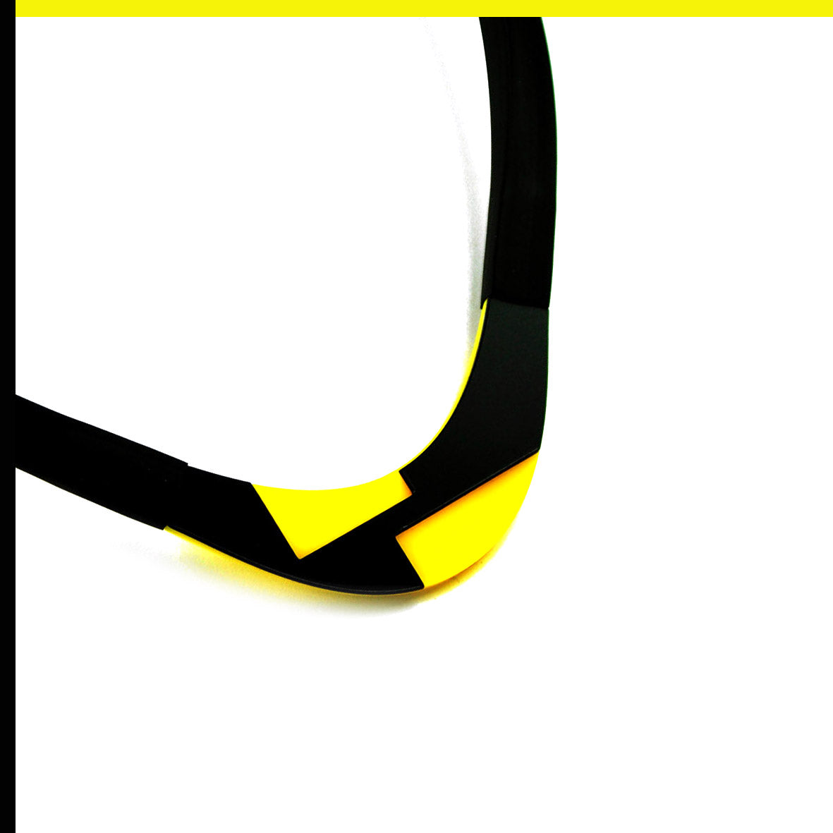 Solen choker Yellow and Black