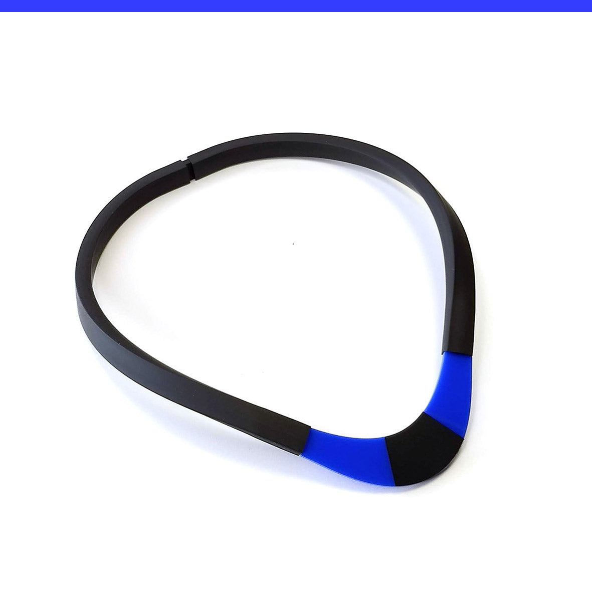 Thea choker Blue and Black