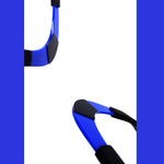 Load image into Gallery viewer, Thea choker Blue and Black