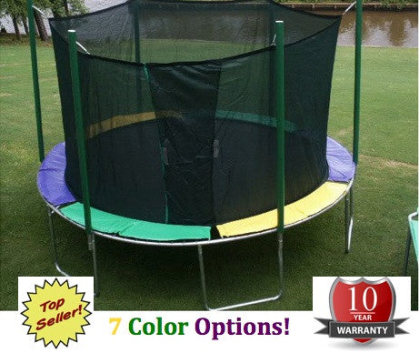 Skywalker Trampolines 11x11 Ft Square Trampoline And