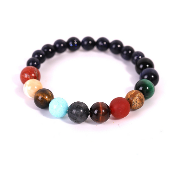 9 Planet Energy Gemstone Bracelet - OhioGem