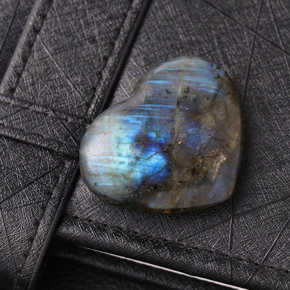 Energy Heart Labradorite