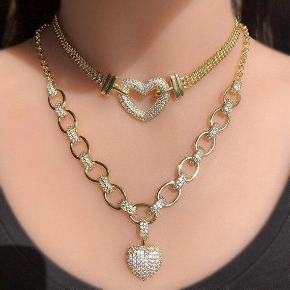 Luxury Cubic Zirconia Necklace Bracelet - OhioGem