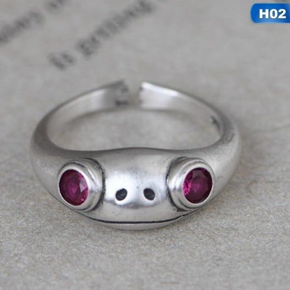 Frog Ring - Handmade Gift For Her, Gift For Him - OhioGem