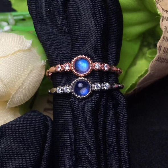 Blue Moonstone Ring to buy - OhioGem