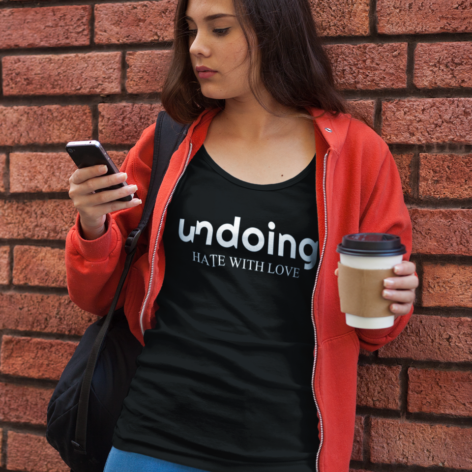 Undoing Statement Tee Solid Version 1  - Ladies' Scoop Neck T-Shirt