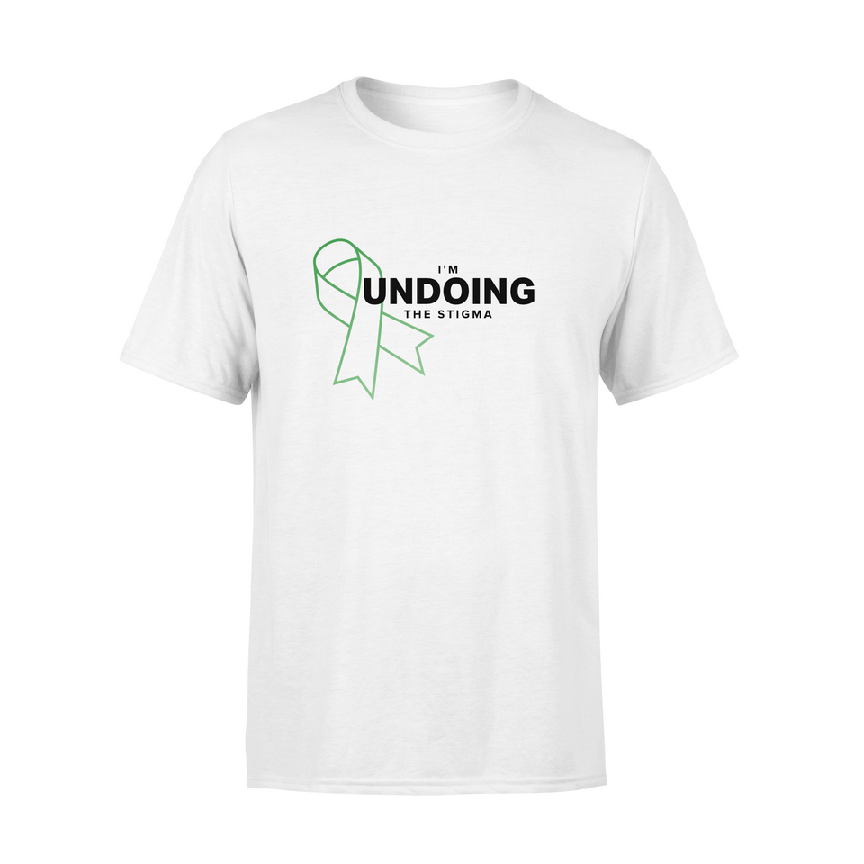 I'm Undoing the Stigma Mental Health Symbol - Unisex T-shirt