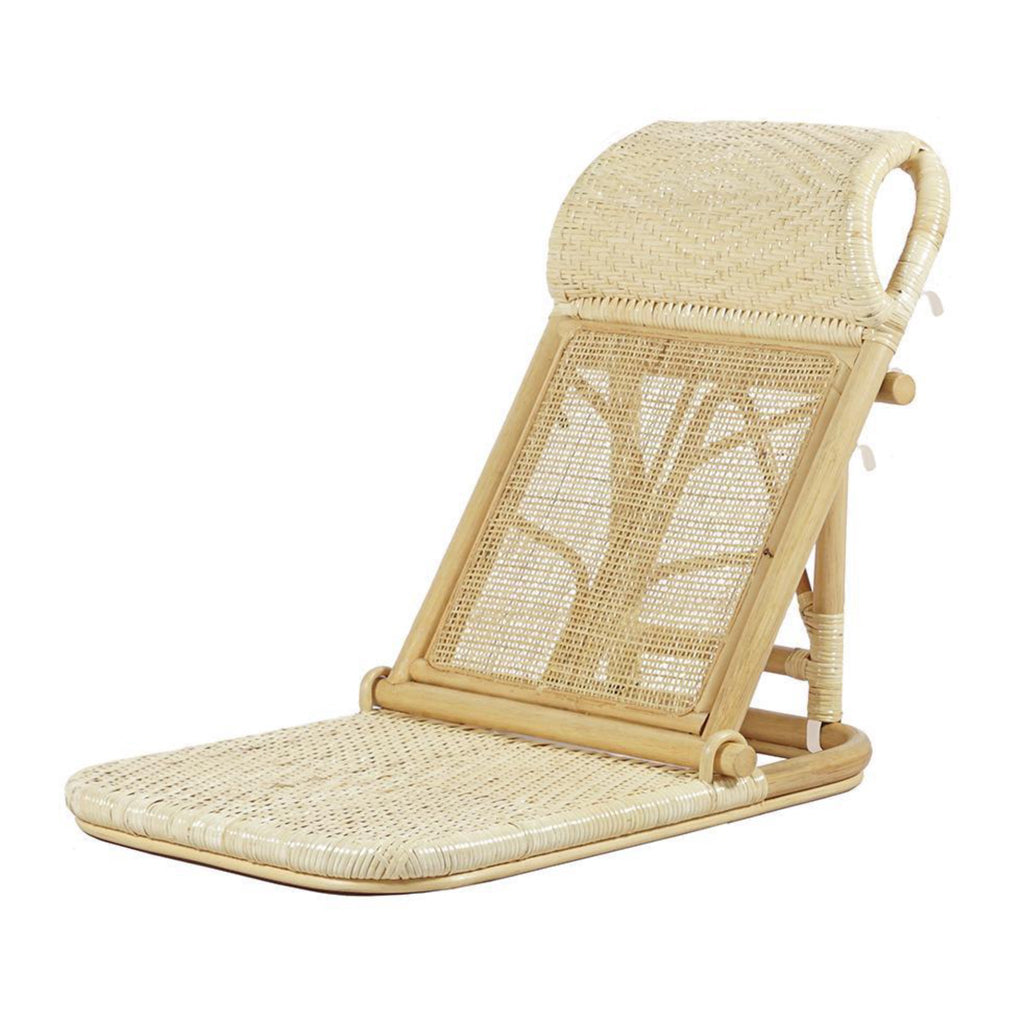 """Resol"" Rattan Beach Chair"
