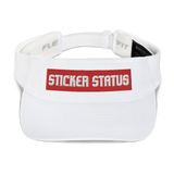 Classic Embroidered Sticker Status Visor