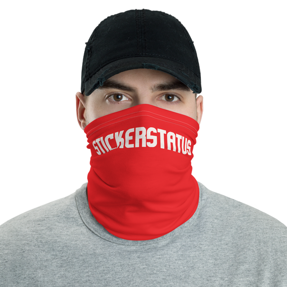 Sticker Status Face/Neck Shield (Custom Designs Available)