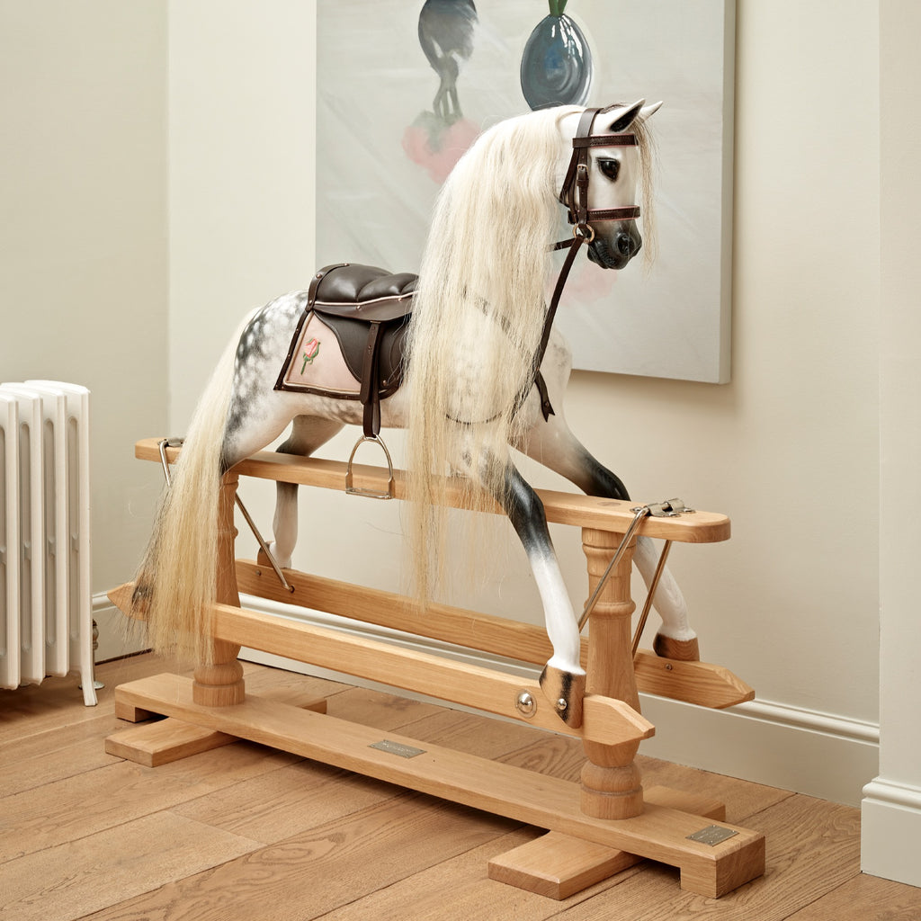 Rosebud Rocking Horse - Large