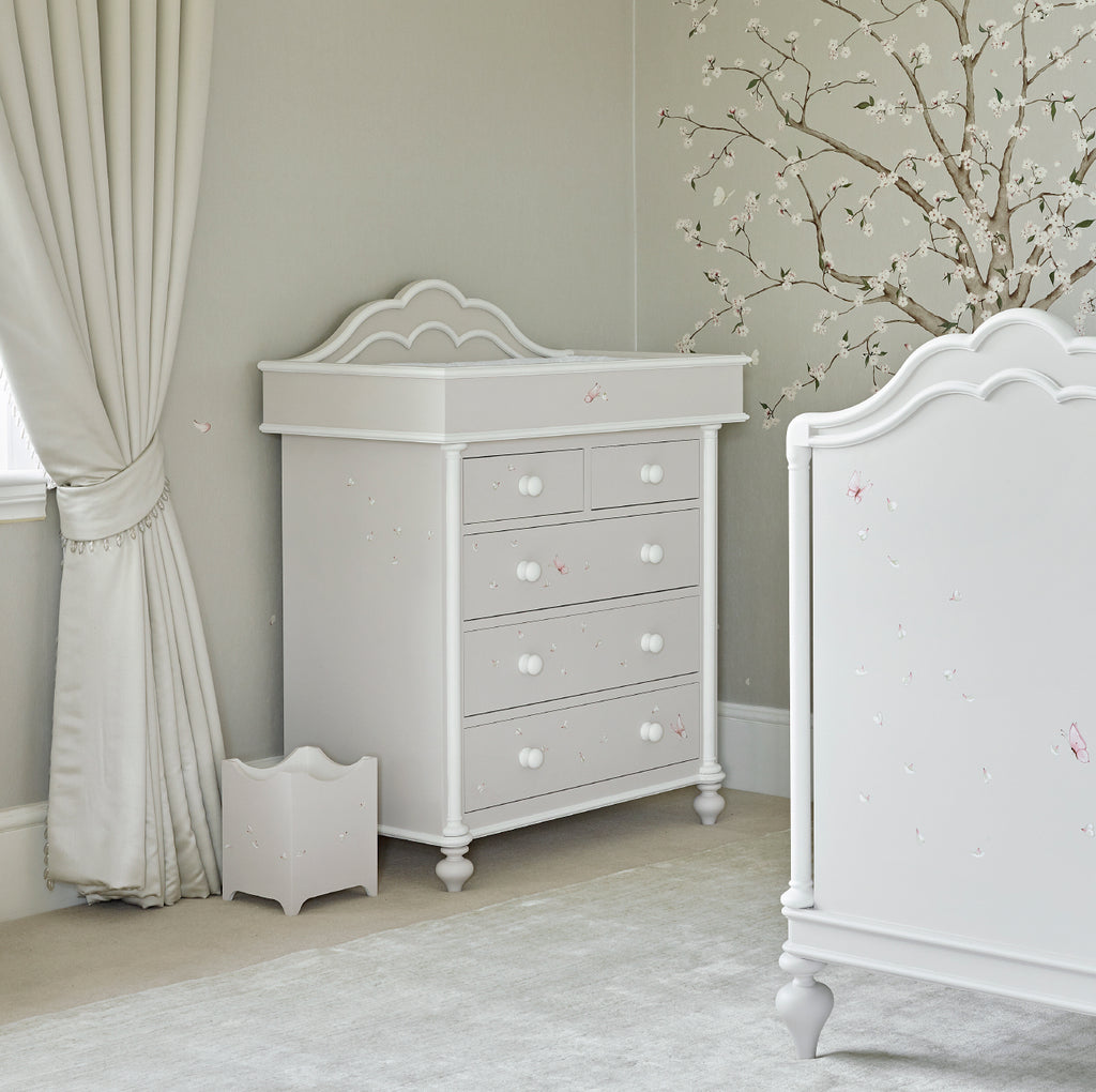 Regency Changer and Chest of Drawers