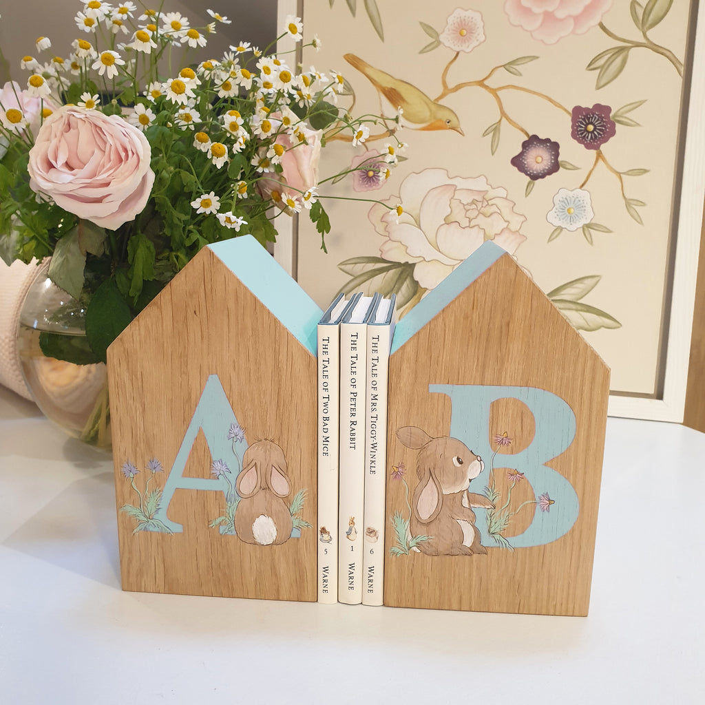 Personalised Oakhouse Bookends