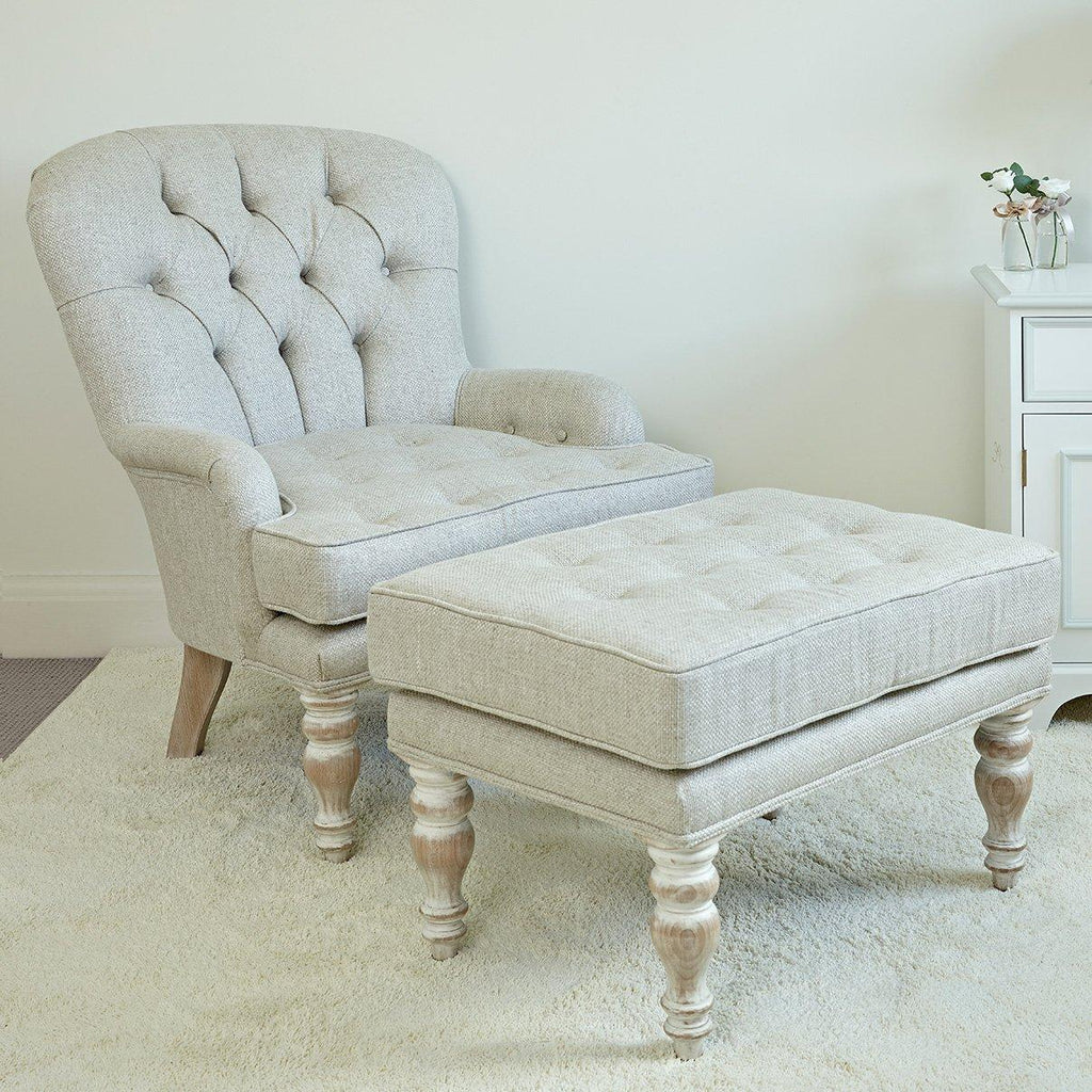 Eternity Chair with Optional Footstool