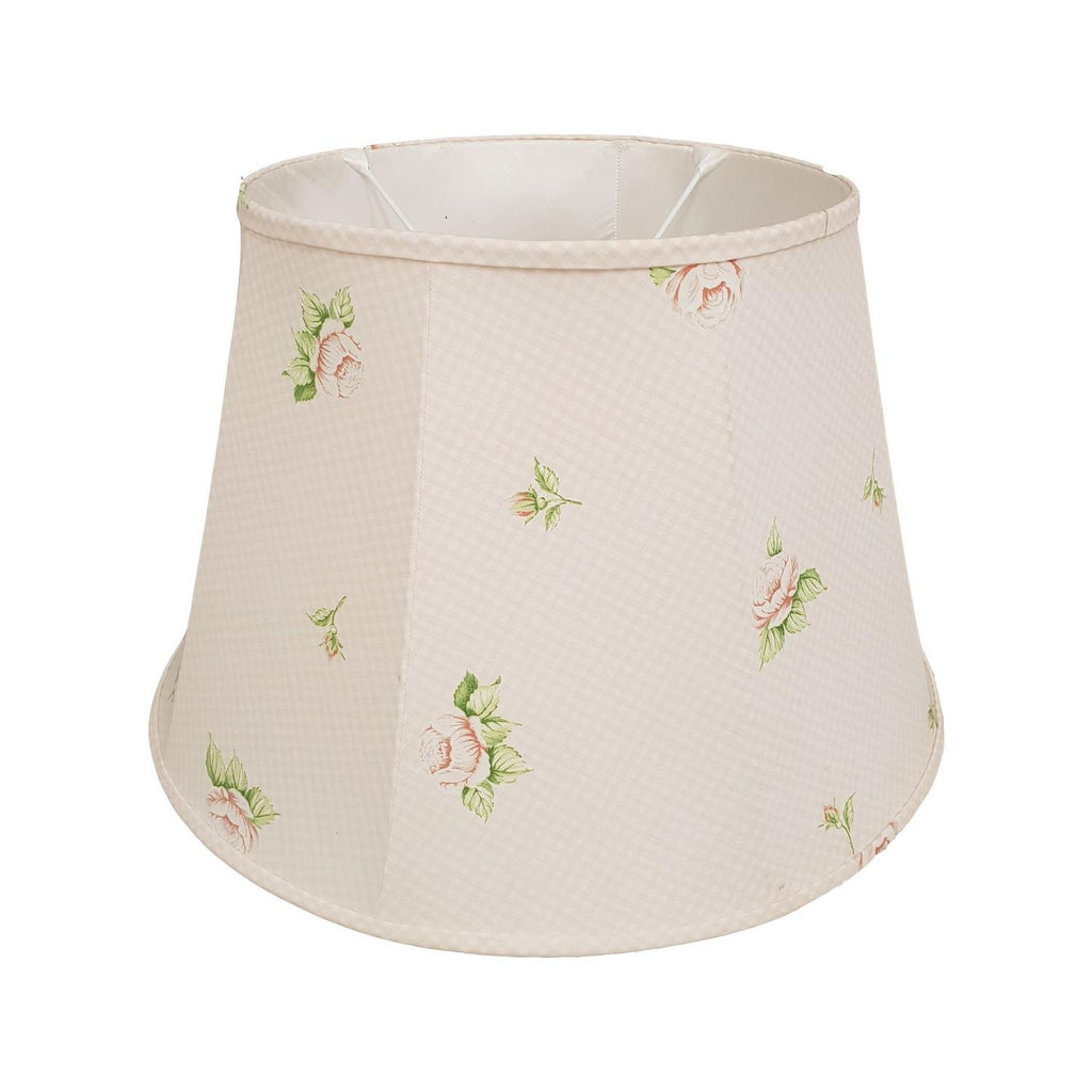 Large Nessa Roses Stretched Lampshade