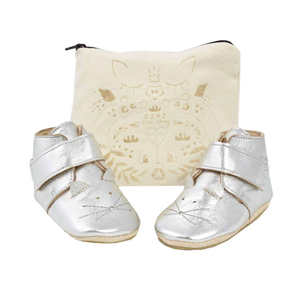 Baby Leather Slipper-Booties