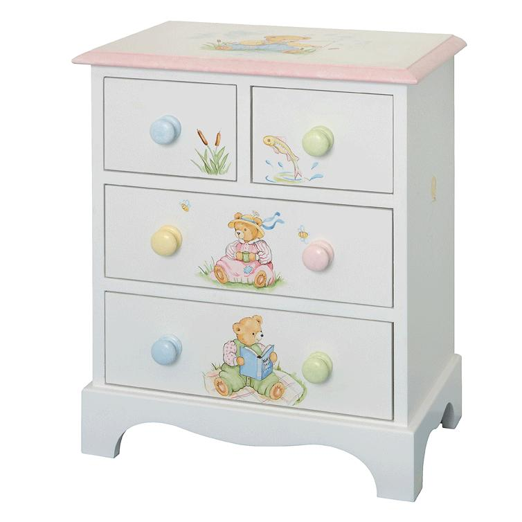 Small Children's Chest of Drawers
