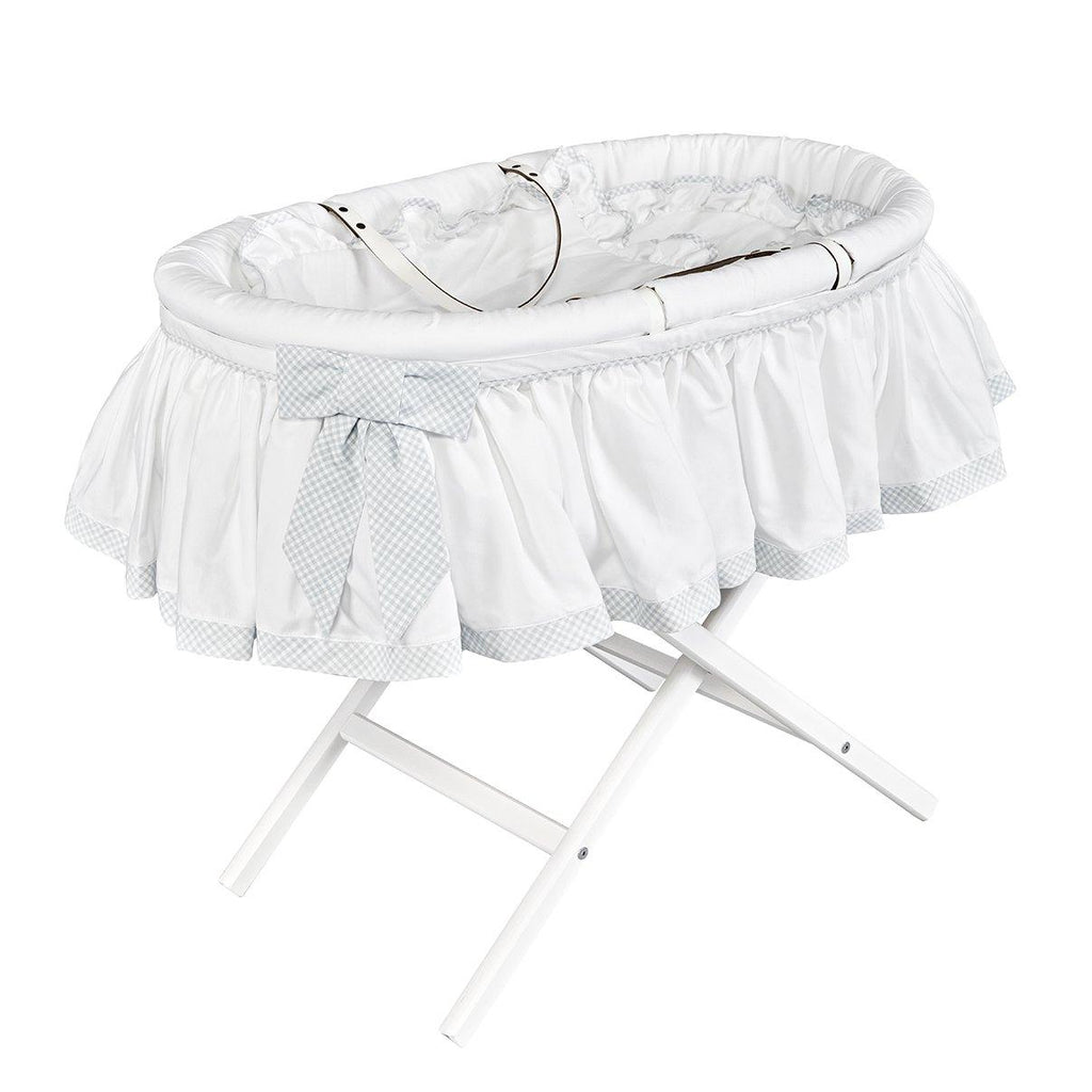Moses Basket with a Classic Skirt