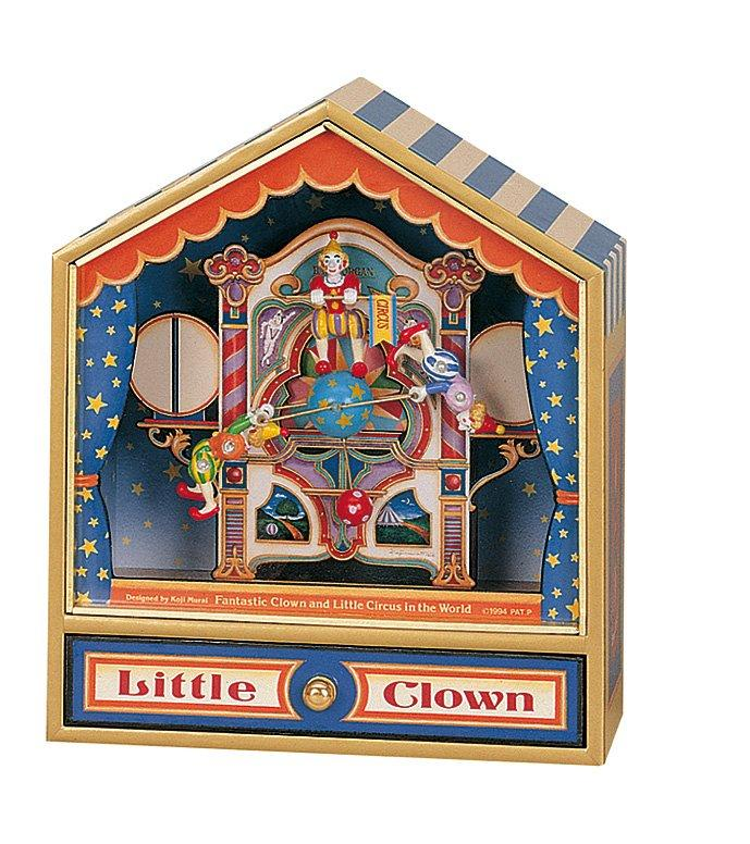 Large Musical Box - Little Clown
