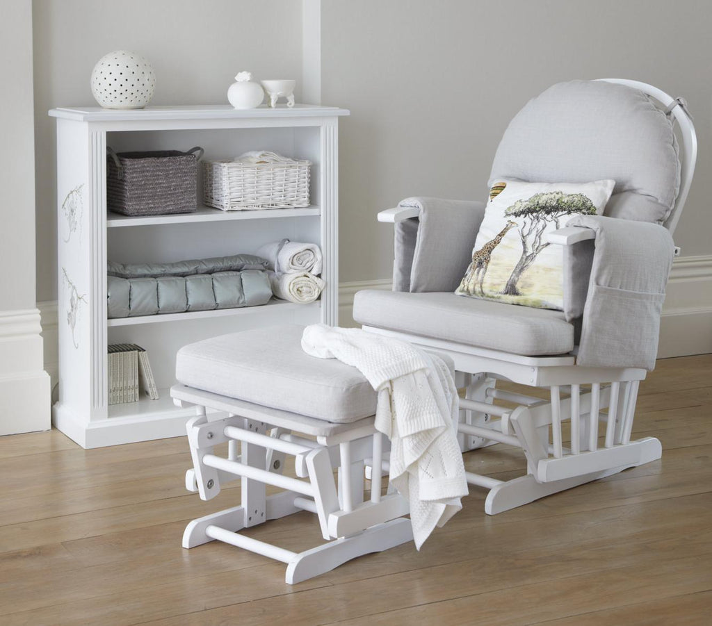 Henley nursing chair with footstool | Dragons of Walton Street