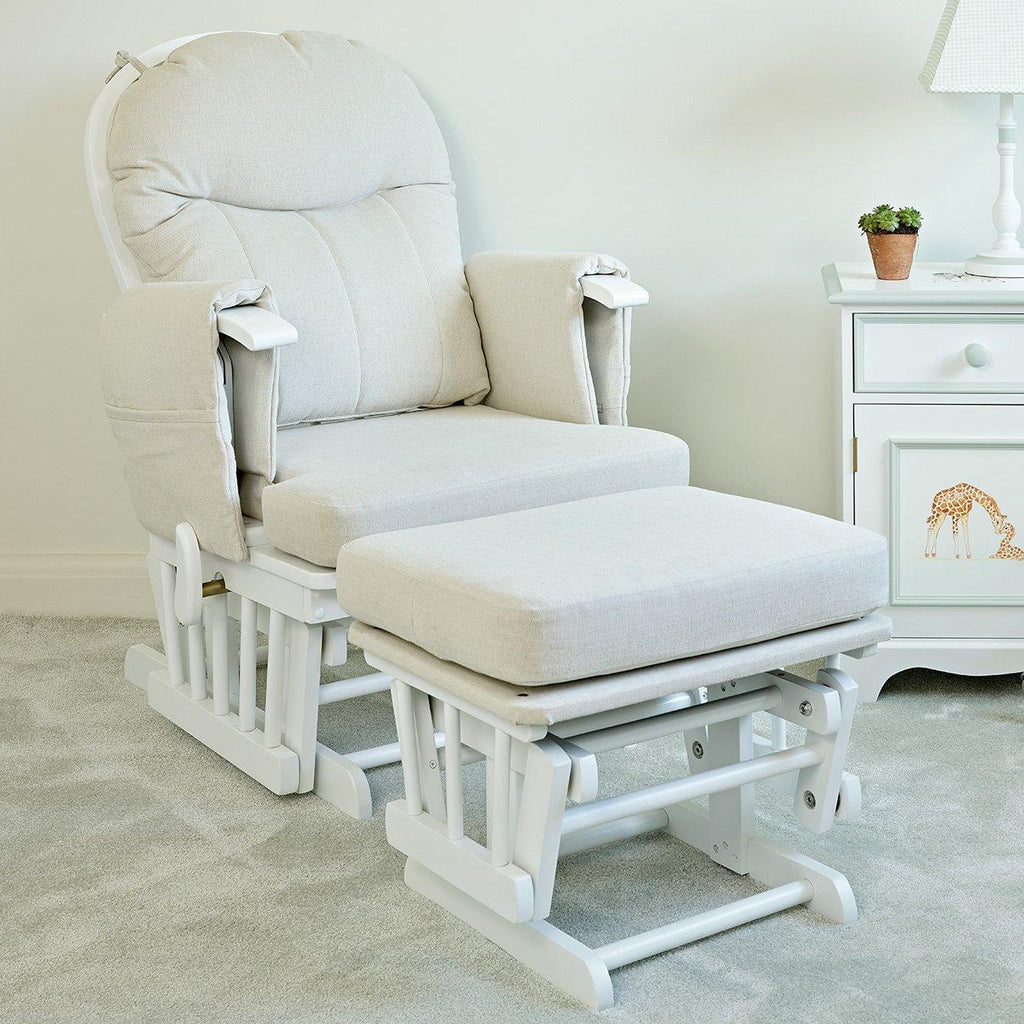 Henley nursery glider chair with stool | Dragons of Walton Street