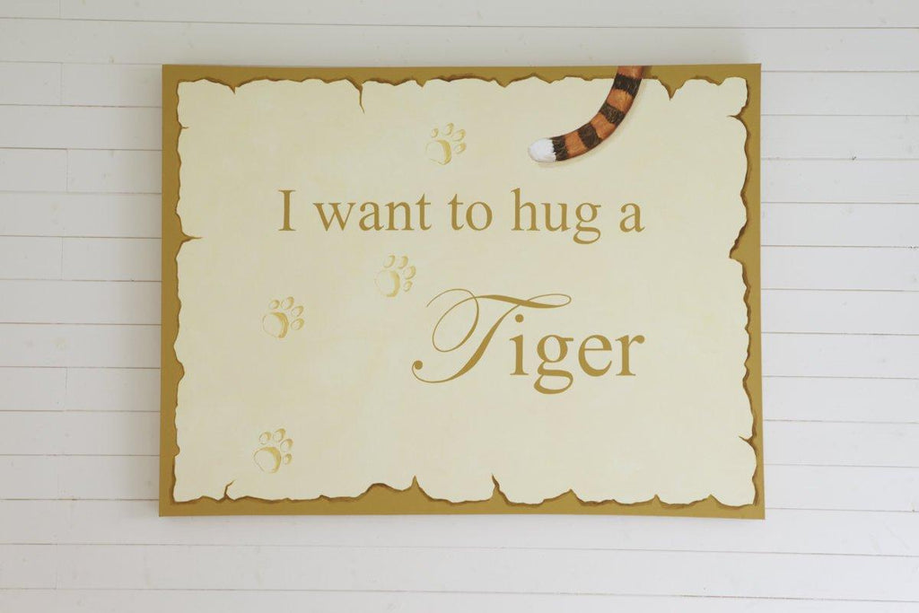 Tiger Mural Canvas