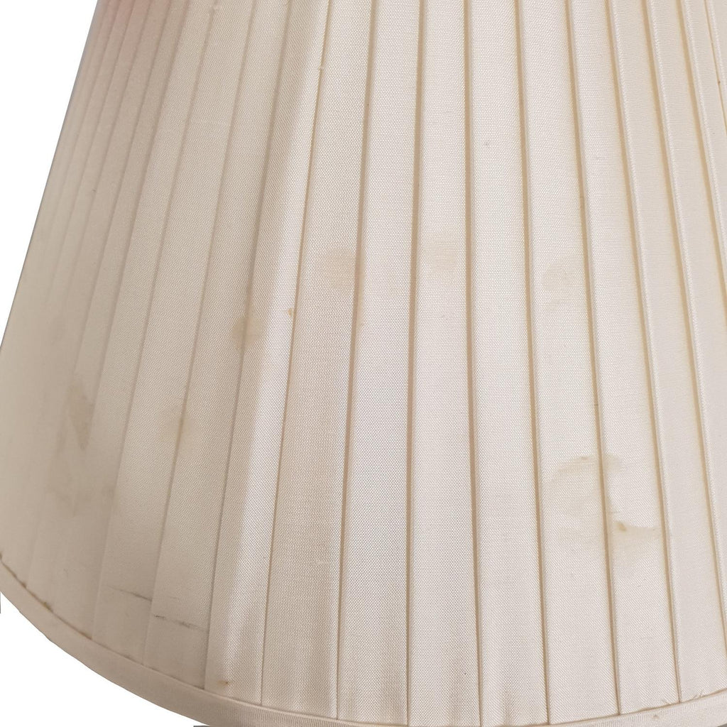 Small Cream Pleated Lampshade