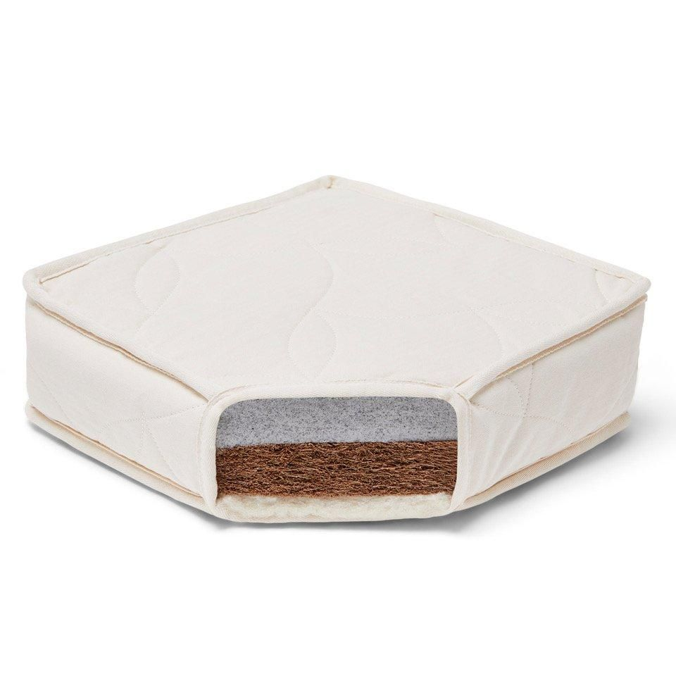 Twist Cotbed Natural Mattress 140cm x 70cm