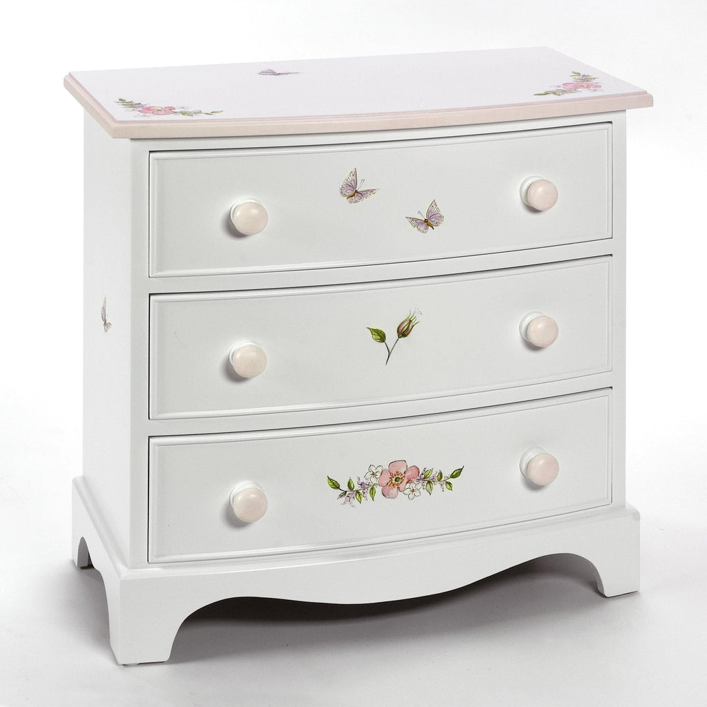 Small Bowfronted Chest of Drawers