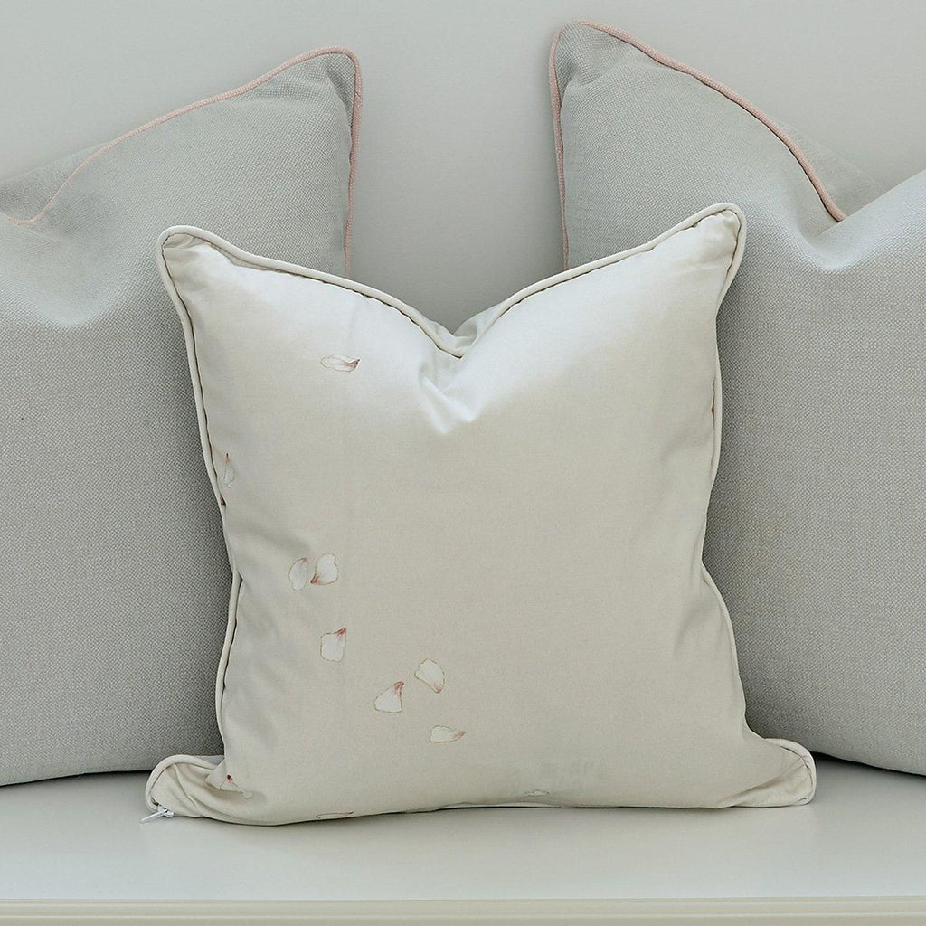 Piped Square Cushion - Large