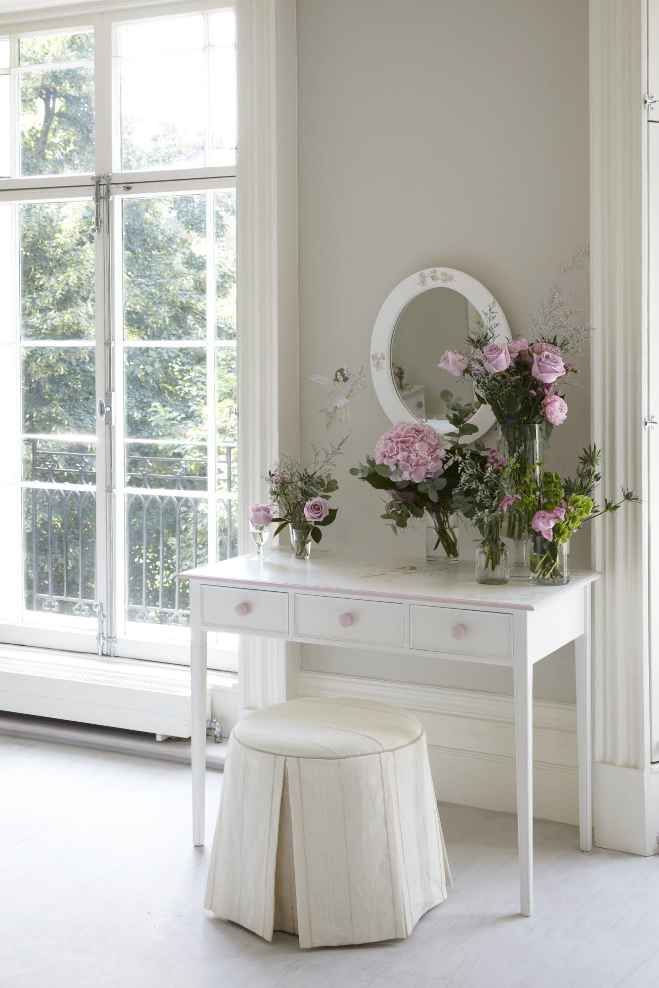 Writing Table with Flower Fairies Artwork
