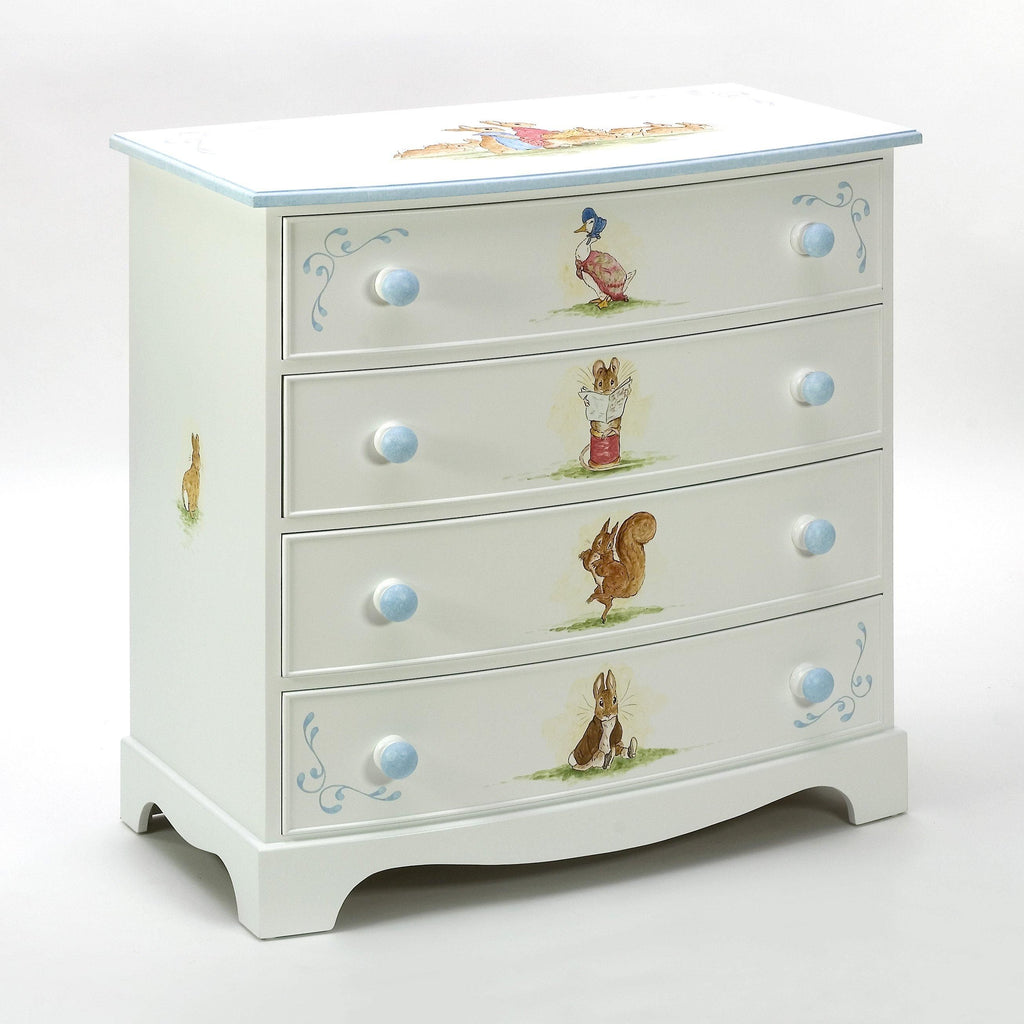 Large Bowfronted Chest of Drawers
