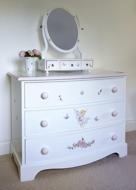 Medium Bowfronted Chest Of Drawers