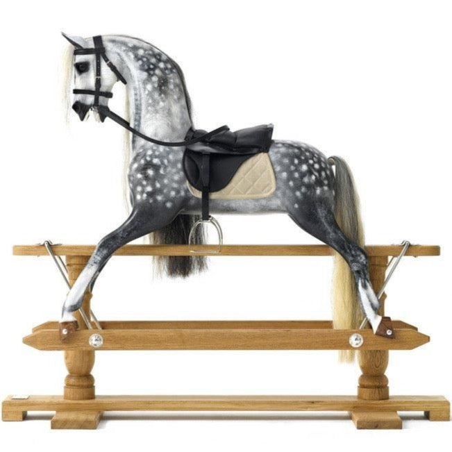 Steel Grey Dapple Rocking Horse