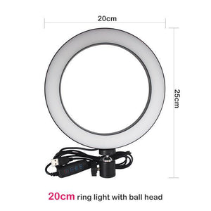 LED Light Ring Tripod Professional photography made easy - GoinsShop