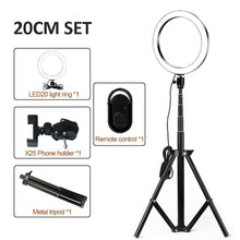 Load image into Gallery viewer, LED Light Ring Tripod Professional photography made easy - GoinsShop