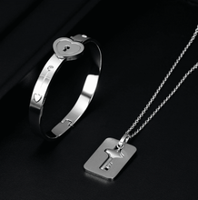 Load image into Gallery viewer, Love-Lock Bracelet & Necklace - GoinsShop