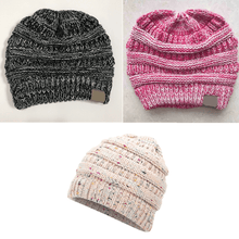 Load image into Gallery viewer, Soft Knitted Ponytail Beanie - BUY 1, GET 2 FREE - GoinsShop