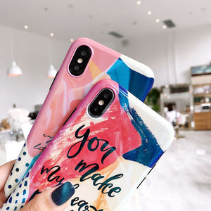 Color Painting  Phone Case - GoinsShop