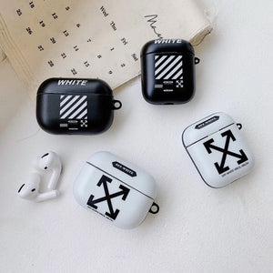 Off White Airpods Case - GoinsShop