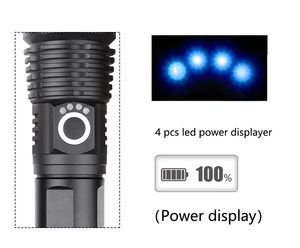 POWERFUL FLASHLIGHT - GoinsShop