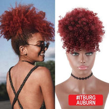 Load image into Gallery viewer, High Puff Ponytail - GoinsShop