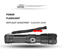 Load image into Gallery viewer, POWERFUL FLASHLIGHT - GoinsShop