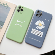 Load image into Gallery viewer, Nike×Small daisies iphone case - GoinsShop