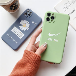 Nike×Small daisies iphone case - GoinsShop