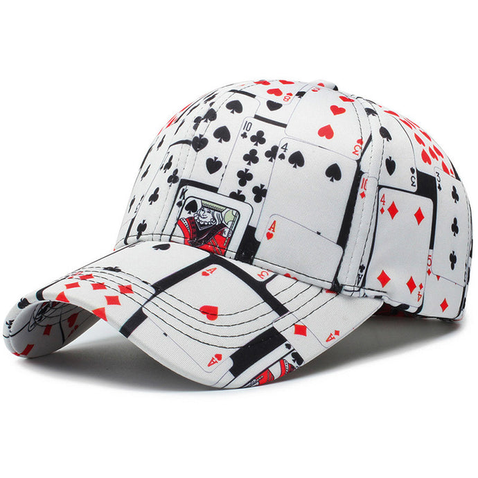 Creative playing card Hat